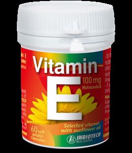 Vitamin E INBIOTECH 100 mg