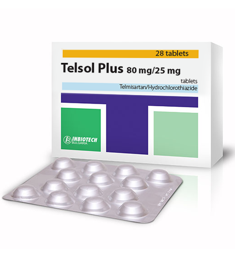 Telsol Plus® 80 mg / 25 mg